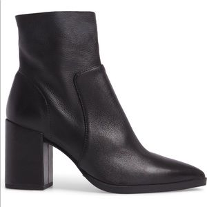 Tony Bianco Brazen booties 6 pointy block heel